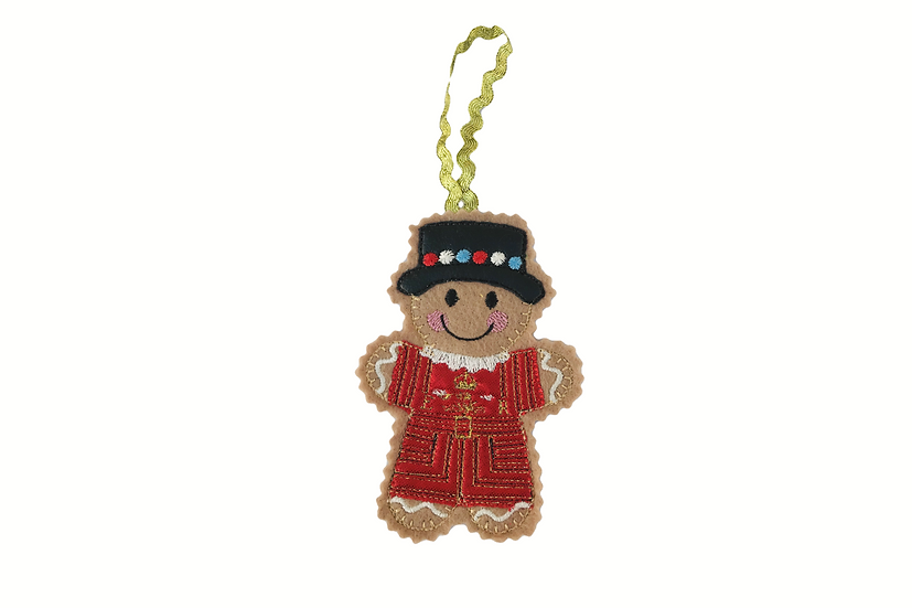 Beefeater Gingerbread Decoration