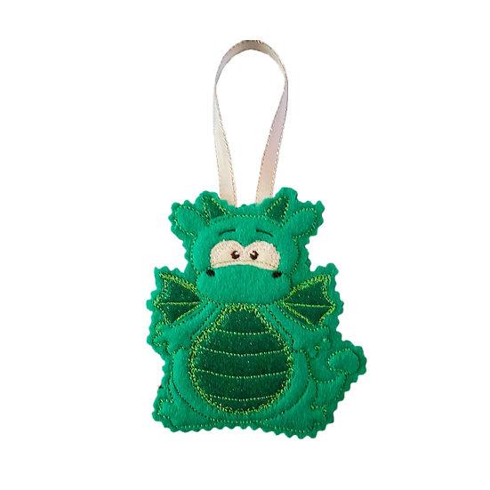 Green Dragon Hanging Decoration