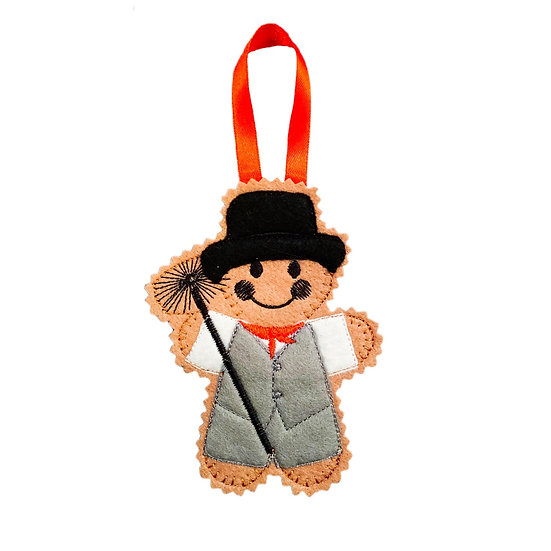 Chimney Sweep Gingerbread Decoration