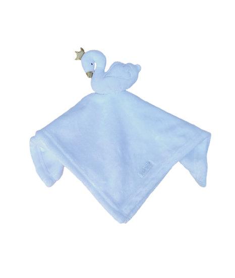 Swan Comforter / Personalised Keepsake / Newborn Baby Gift