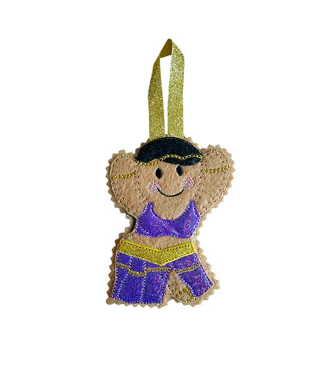 Belly Dancer Gingerbread Decoration