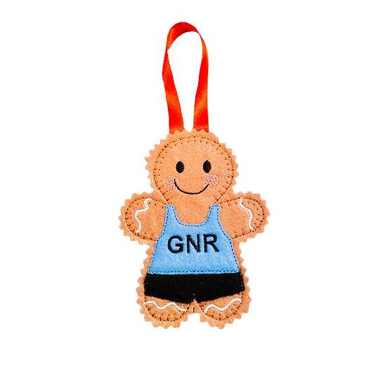 Runner Gingerbread Decoration