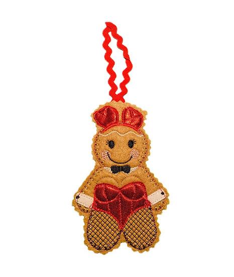 Bunny Girl Gingerbread Decoration