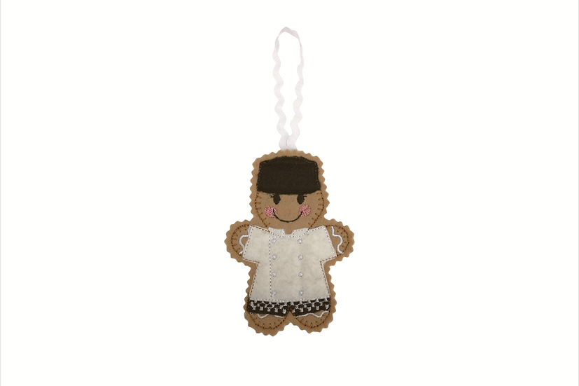 Chef Gingerbread Decoration