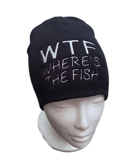 Novelty Fishing Joke Beanie Hat
