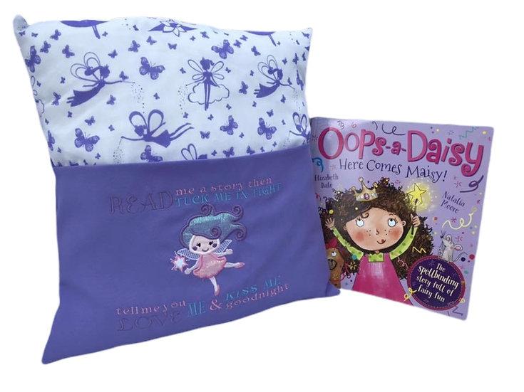 Fairy Themed Book Cushion