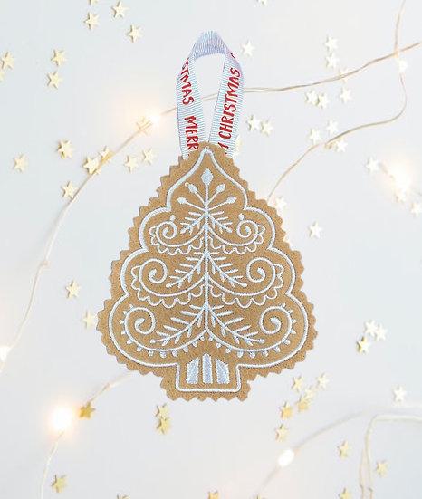 Cookie Felt Christmas Tree Decoration