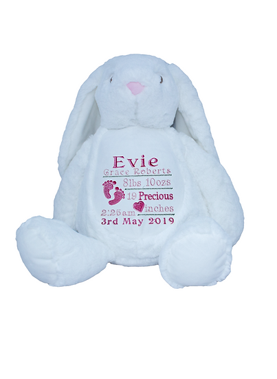 Bunny Rabbit Personalised Soft Toy
