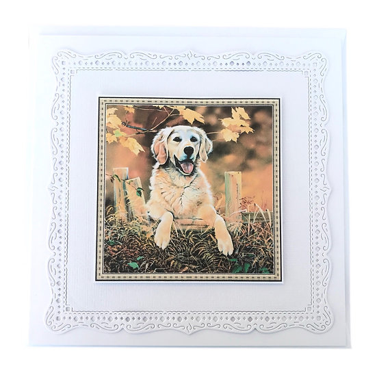Golden Retriever Greetings Card