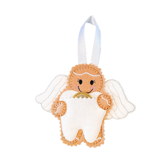 Tooth Fairy Gingerbread Decoration