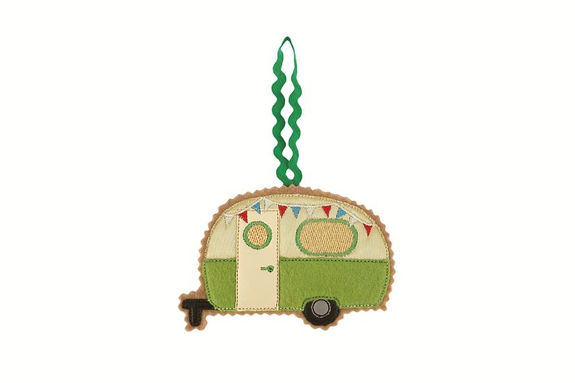 Caravan / Camper Gingerbread Decoration