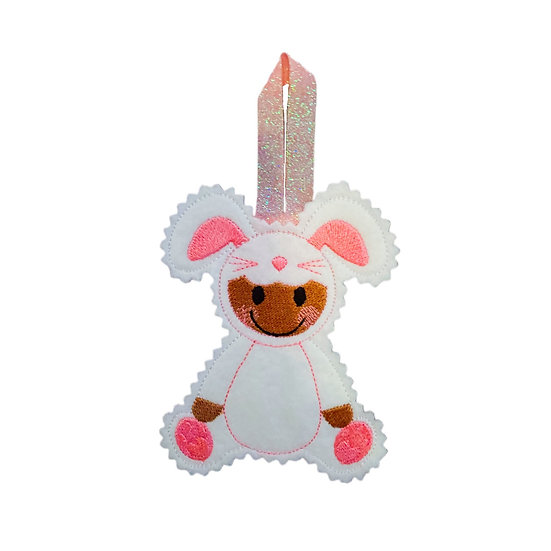 Gingerbread Bunny Dress Up Decoration