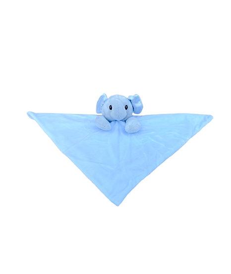 Blue Elephant Comforter / Personalised Keepsake / Newborn Baby Gift