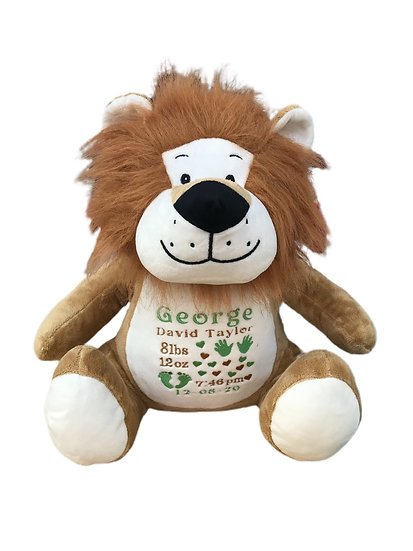 Lion Personalised Soft Toy