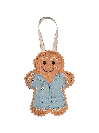 Nurse / Carer Gingerbread Decoration