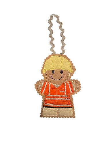 Hi Viz Builder Gingerbread Decoration