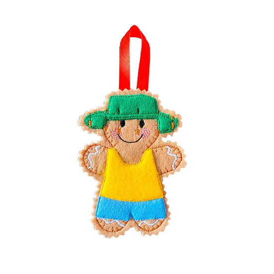 Australian Gingerbread Decoration