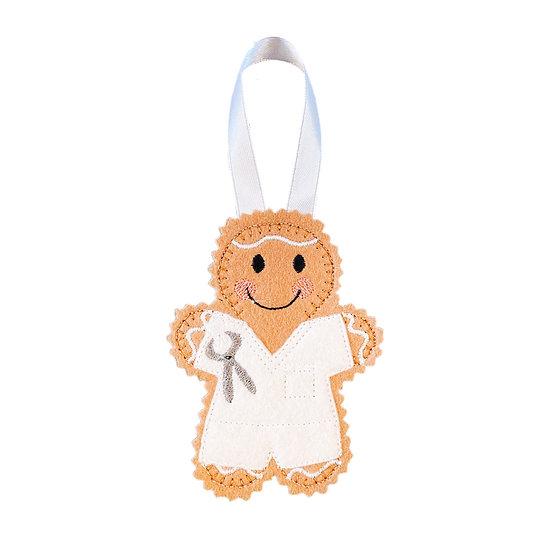 Dentist Gingerbread Decoration