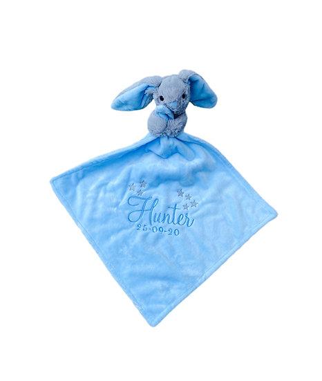 Bunny Rabbit Comforter / Personalised Keepsake / Newborn Baby Gift / Baby Shower