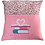 Thumbnail: Pink Floral Heart Book Cushion