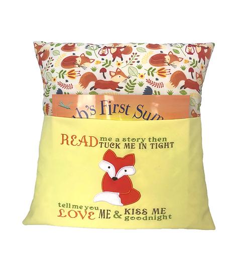 Fox Book Cushion