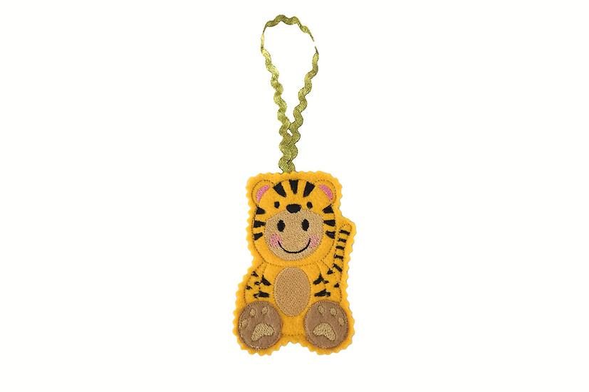 Tiger Gingerbread Decoration