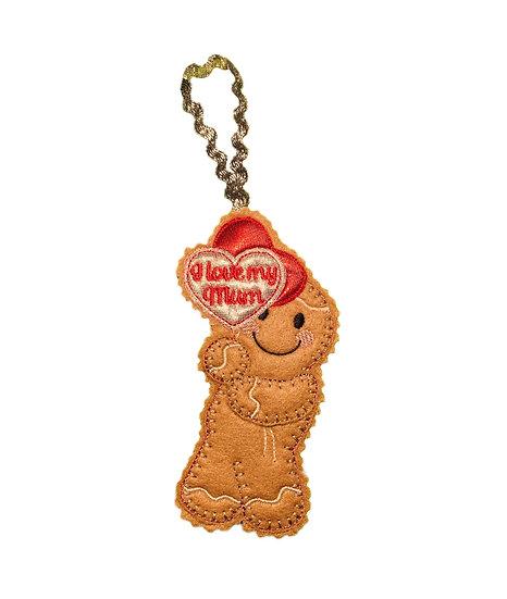Gingerbread Mum Decoration