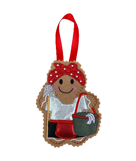Cleaner Gingerbread Decoration