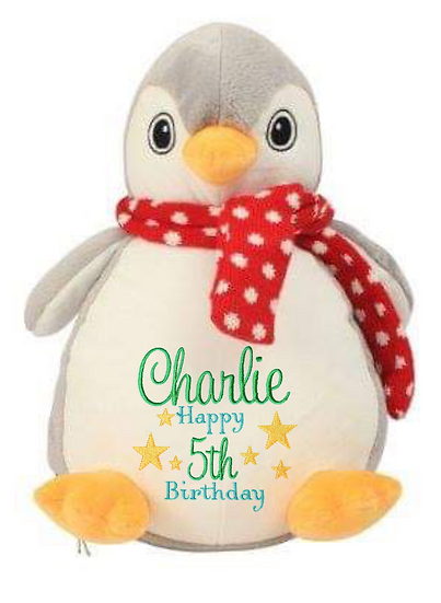 Penguin Personalised Soft Toy