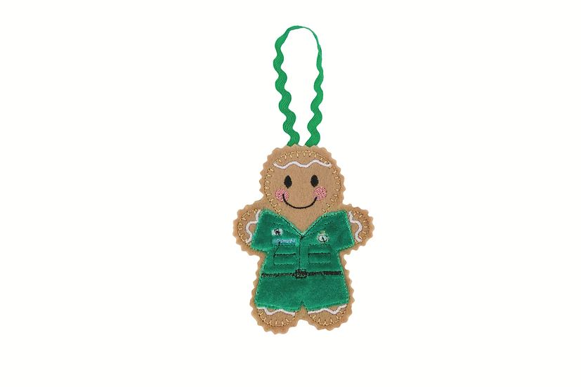 Paramedic Gingerbread Decoration