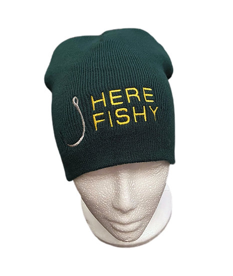 Novelty Fishermans Beanie Hat
