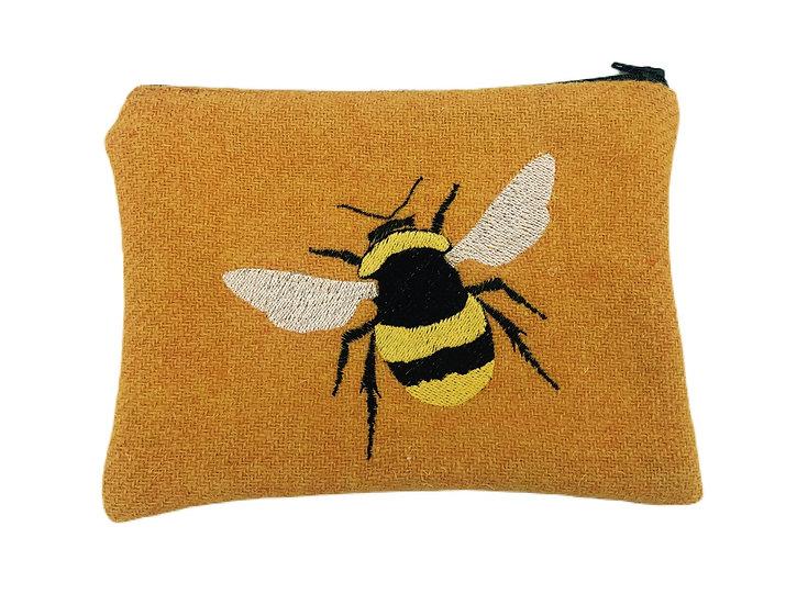 Bumble Bee Harris Tweed Purse