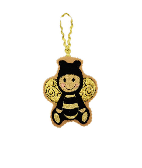 Bumblebee Gingerbread Decoration