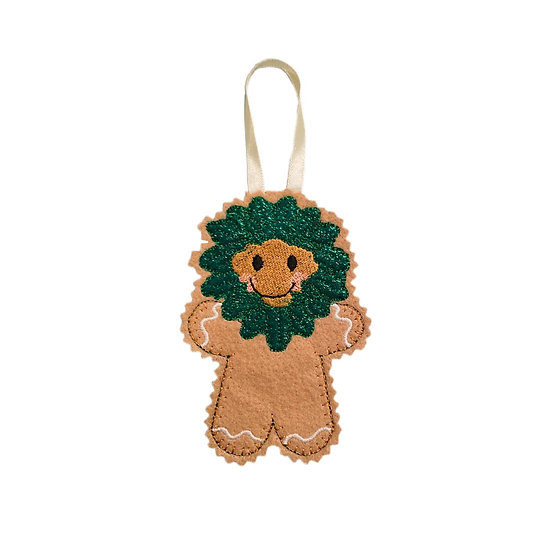 Gingerbread Greenman Decoration