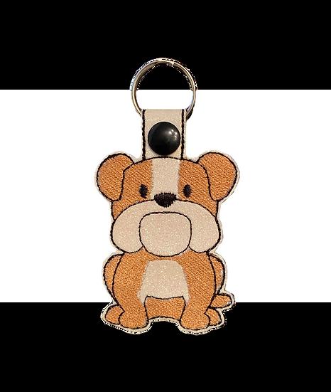 British Bulldog Key Ring