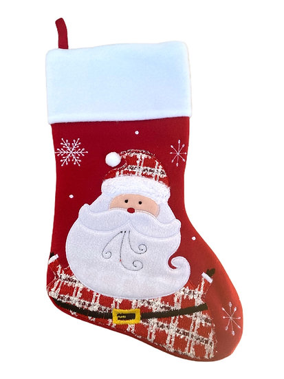 Santa Claus / Father Christmas Personalised Christmas Stocking