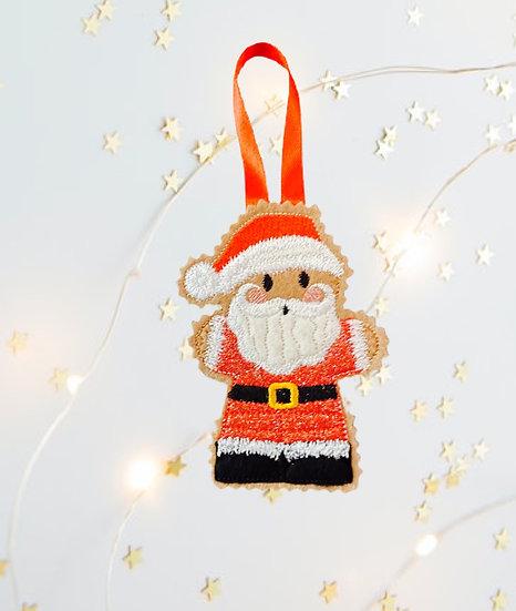 Santa Claus Gingerbread  Decoration