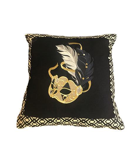 Harlequin Mask Cushion