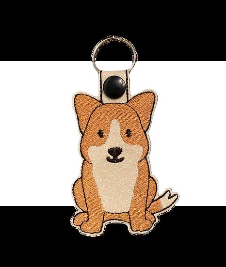 Corgi Dog Key Ring