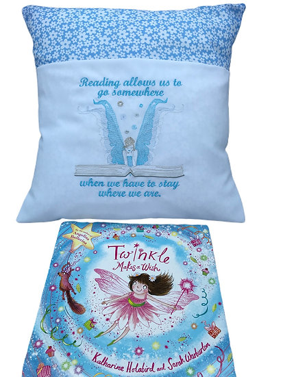 Fairy Themed Book Cushion