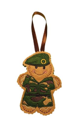 Marine Gingerbread Decoration