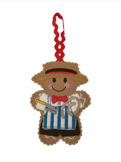Butcher Gingerbread Decoration