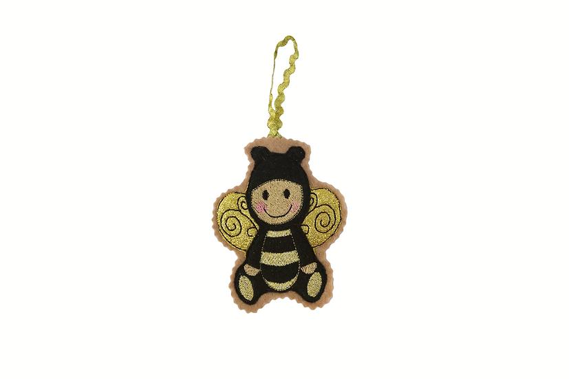 Bumblebee Gingerbread Decoration