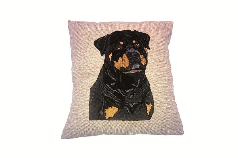 Rottweiler Cushion