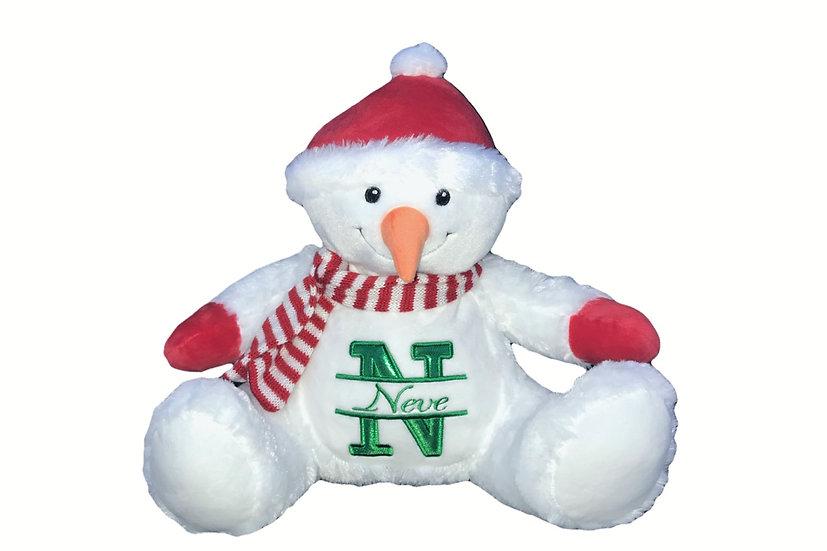 Personalised Snowman