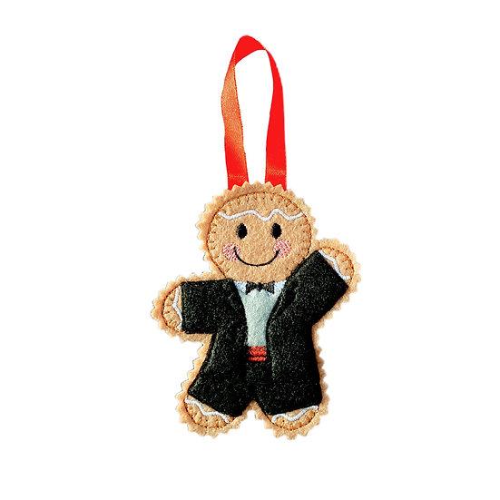 Ballroom Dancer Gingerbread Man Decoration