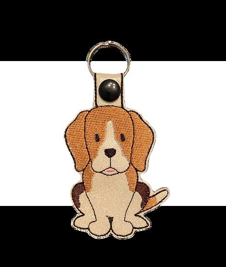 Beagle Dog Key Ring