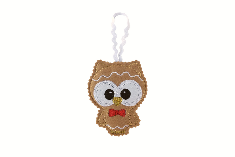 Gingerbread Owl Decoration