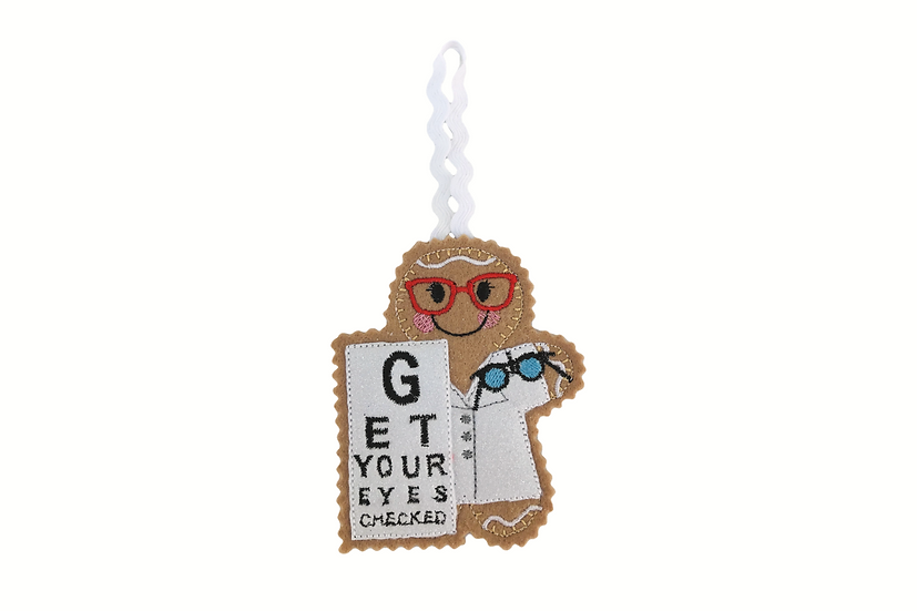 Optician Gingerbread Decoration