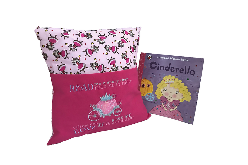Cinderella Pink Princess Themed Cushion